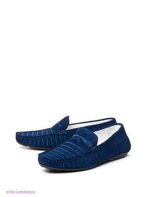 Мокасины Barcelo Biagi. Цвет: синий