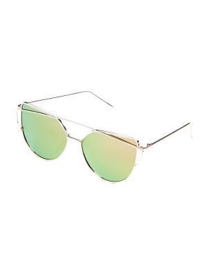 Солнцезащитные очки KEDDO. Цвет: розовый