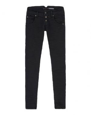 Повседневные брюки PLEASE. Цвет: черный