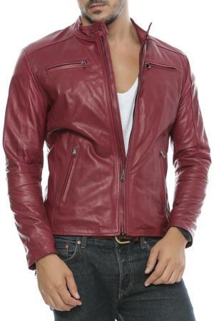Куртка L.Y.N.N by Carla Ferreri. Цвет: bordeaux