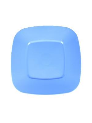 Тарелка для торта Migura. Цвет: голубой