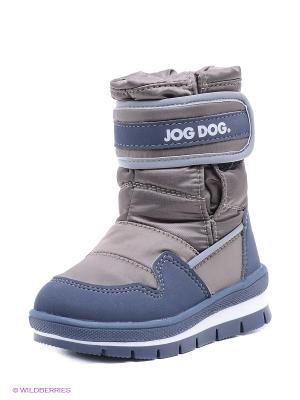 Сапоги Jog Dog. Цвет: коричневый