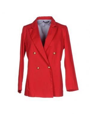 Пиджак NINEMINUTES. Цвет: красный