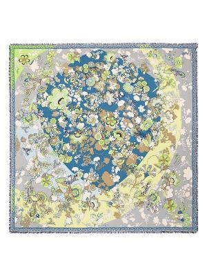 Платок Eleganzza. Цвет: серо-голубой, кремовый, салатовый, светло-желтый, серый