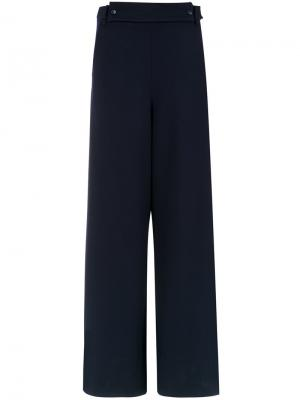 Wide leg trousers Gloria Coelho. Цвет: синий