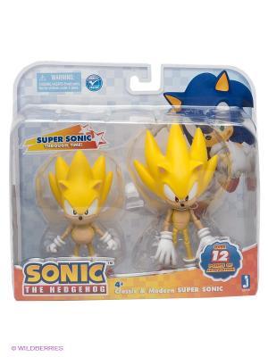 Фигурки  Super Sonic Through Time 2в1. Соник. Цвет: желтый