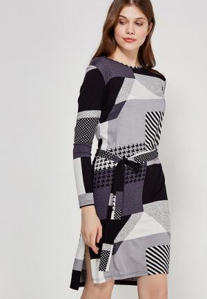 Платье Echo. Цвет: серый
