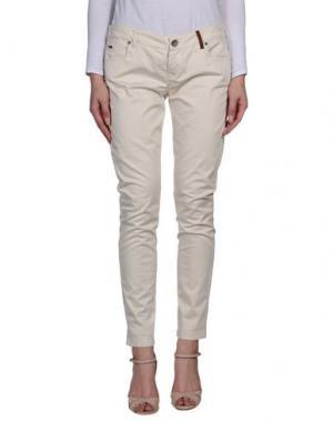 Повседневные брюки TIMEOUT. Цвет: слоновая кость