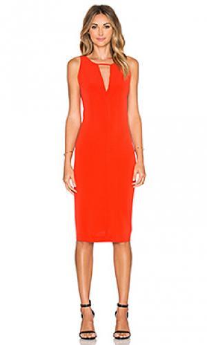 Платье laine BB Dakota. Цвет: оранжевый
