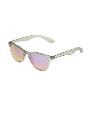 Солнцезащитные очки Happy Charms Family. Цвет: серый