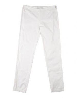 Повседневные брюки PARROT. Цвет: белый