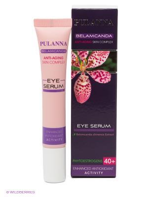 Омолаживающая сыворотка для век с фитоэстрогенами -Eye Serum 20мл PULANNA. Цвет: розовый