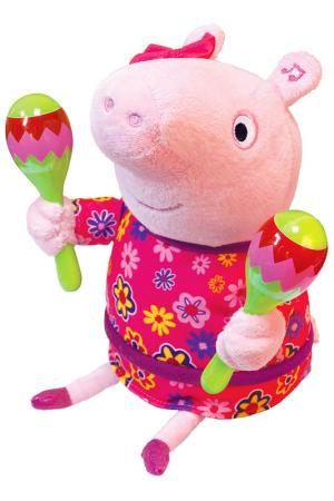 Мягкая интерактивная игрушка СВИНКА ПЕППА. Цвет: розовый