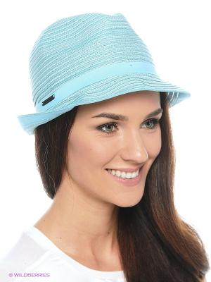 Шляпа SEEBERGER. Цвет: бирюзовый