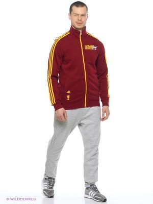 Ветровка Basics Trck Jkt Adidas. Цвет: красный, желтый
