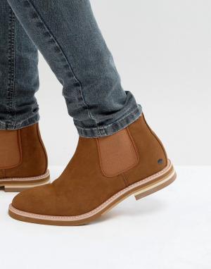 Call it Spring Светло-коричневые ботинки челси Haalewien. Цвет: рыжий