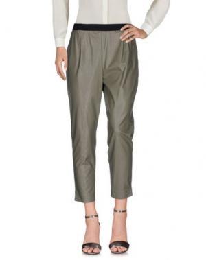 Повседневные брюки VICOLO. Цвет: зеленый-милитари