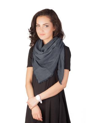 Платок Элеганс (серый) Le Motif Couture. Цвет: серый