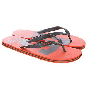 Шлепанцы DC Spray Logo Sndl Orange Shoes. Цвет: оранжевый