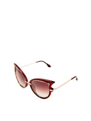 Очки солнцезащитные Mitya Veselkov. Цвет: коричневый