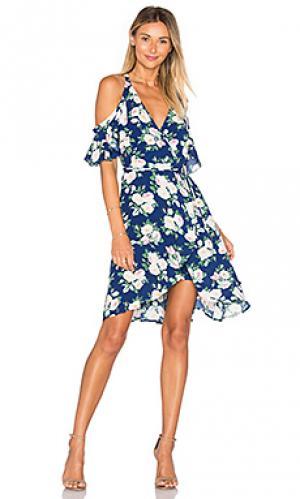 Платье delta Privacy Please. Цвет: синий