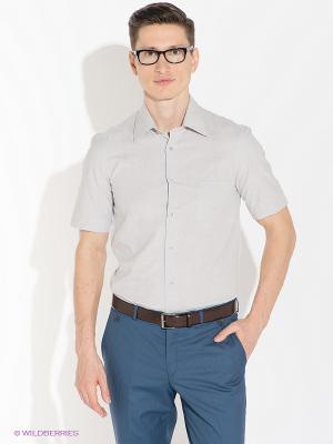 Рубашка ABSOLUTEX. Цвет: серый