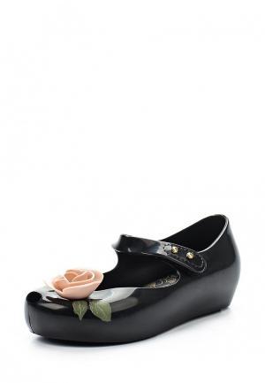 Туфли Melissa. Цвет: черный