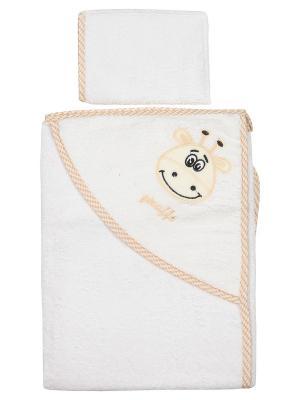 Уголок для купания малыша M-BABY. Цвет: белый, бежевый