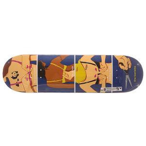 Дека для скейтборда  S6 Barletta R7 How To 31.7 x 8.25 (21 см) Enjoi. Цвет: мультиколор