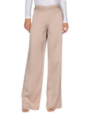 Повседневные брюки GAI MATTIOLO. Цвет: бежевый