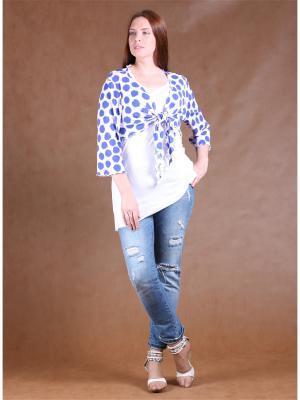 Комплект одежды Yuliya Shehodanova. Цвет: белый, индиго