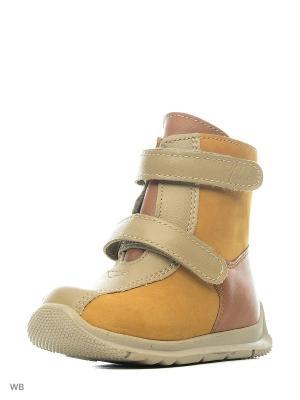 Ботинки ФОМА. Цвет: рыжий, бежевый