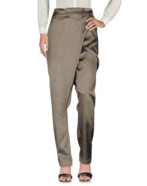 Повседневные брюки IF SIX WAS NINE. Цвет: зеленый-милитари