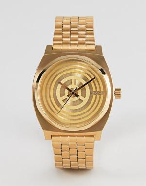 Nixon x Star Wars Золотистые наручные часы C-3PO. Цвет: золотой