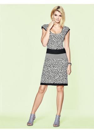 Платье Mandarin. Цвет: темно-серый