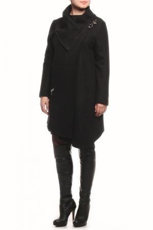 Пальто LE FATE. Цвет: черный