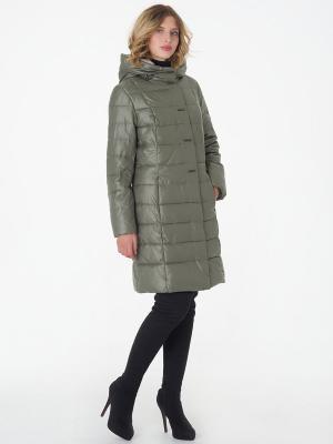 Стеганое пальто CATTAIL WILLOW. Цвет: оливковый