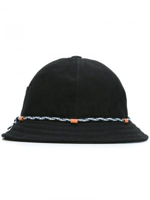 Шляпа KI-BOB Beton Cire. Цвет: чёрный