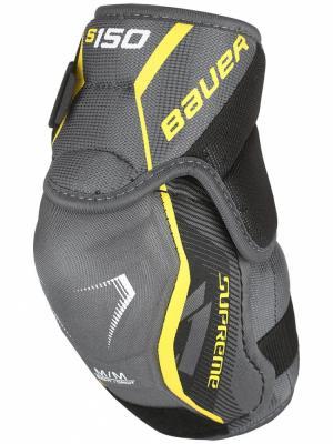 Защита локтя S17 SUPREME S150 Bauer. Цвет: черный, желтый, серый