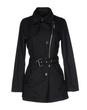 Легкое пальто MABRUN. Цвет: темно-синий