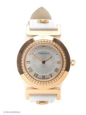 Часы Versace. Цвет: белый, золотистый