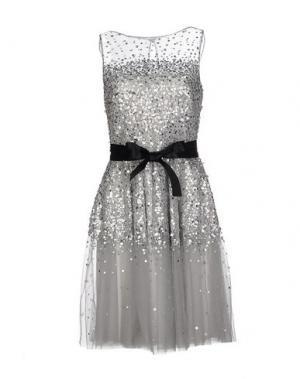 Короткое платье BASIX. Цвет: серый