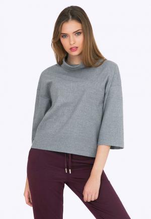 Блуза Emka. Цвет: серый