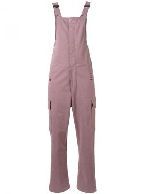 Комбинезон в стиле кэжуал See By Chloé. Цвет: розовый и фиолетовый