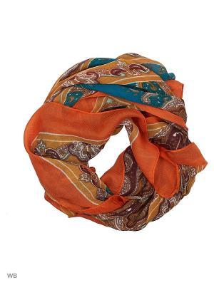 Платок женский Sophie Ramage. Цвет: оранжевый