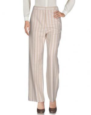 Повседневные брюки ACNE STUDIOS. Цвет: бежевый