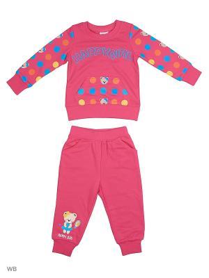 Джемпер, брюки Sago Kids i Ant Domain. Цвет: розовый
