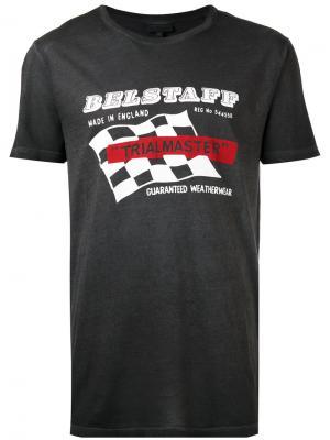 Logo printed T-shirt Belstaff. Цвет: чёрный