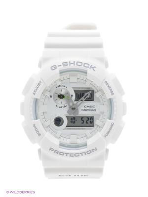 Часы G-Shock GAX-100A-7A CASIO. Цвет: белый
