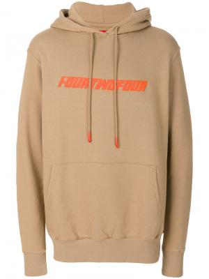 Printed hoodie 424 Fairfax. Цвет: телесный
